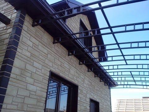 Монтаж фасадных панелей | Облицовка дома фасадными панелями