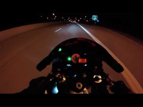 GSX-R 750 vs BMW M6 and 350Z