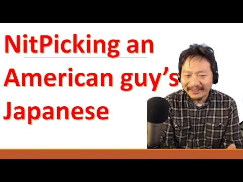Helping an American guy perfect his Japanese intonation