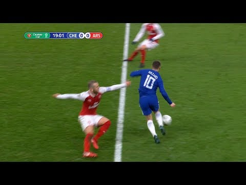 Eden Hazard vs Arsenal (Home) 10/01/2018 HD 1080i