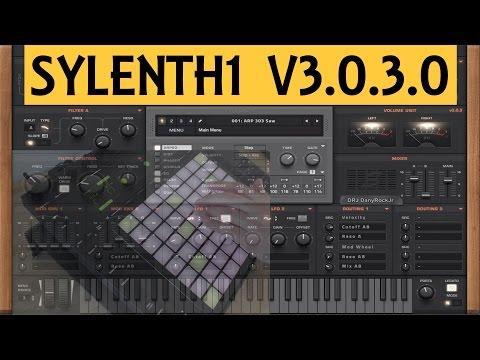 Sylenth1 v3.0.3.0: Mise à jour + Test banques de sons [sound banks test- EN SUB]