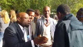 *2014* Hyde Park Speakers Corner - Christian VS Muslim Debate - Why Christian Reject Muhammad