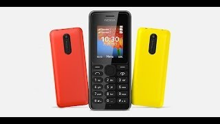 Nokia 108 Dual sim обзор