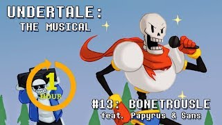 Undertale The Musical Bonetrousle One Hour