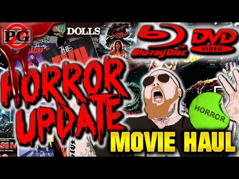 Horror Blu-Ray/DVD Collection Update (#36) & UV Giveaway + Shoutouts