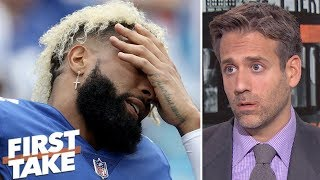Odell Beckham Jr. taking heat from John Mara because Eli Manning is 'no good' - Max | First Take