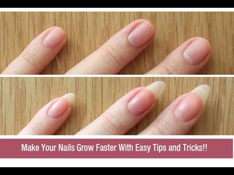 How to Grow Nails Faster Naturally? | DIY Nail Growth Recipe - YouTube