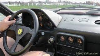Ferrari 328 GTS Ride
