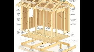Shed Plans - How To Build A Shed With Plans,blueprints,diagrams,step-by-step Instructions And More
