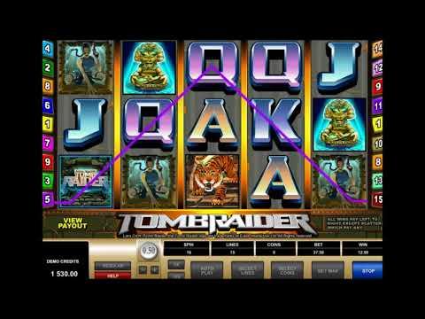 Как играть в автомат Tomb Raider, демонстрация слота Расхитительница Гробниц - Best Solts Channel