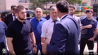 Habib Nurmaqomedov Bakıda (Videroportaj)