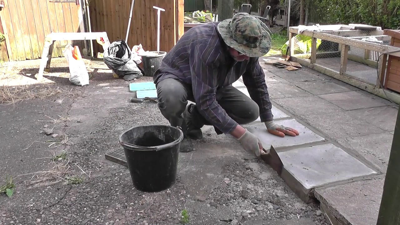 DIY: Patio Repair   Replacing Concrete Slabs