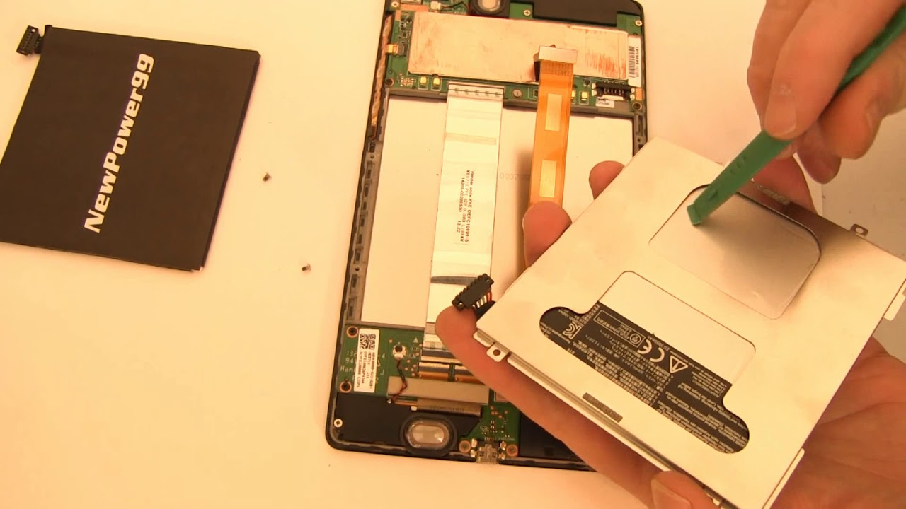 How to Replace Your Asus Memo Pad 7 2015 Battery