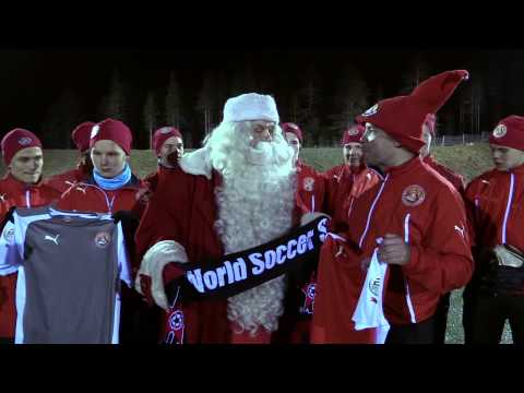FC Santa Claus Partners With World Soccer Shop - Finnish Version