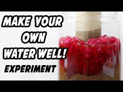 Make Your Own Well Experiment