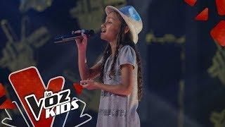 Nicole canta Orgullosamente Mujer – Audiciones a Ciegas | La Voz Kids Colombia 2019