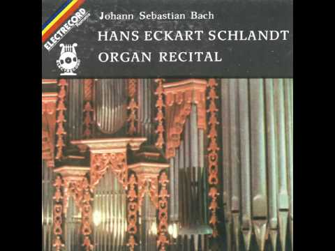 Hans Eckart Schlandt - Johann Sebastian Bach: Prelude and Fugue in G major, bwv 541