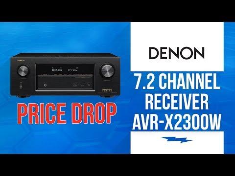 Denon Receiver - AVRX2300W