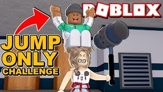 JUMPING ONLY Challenge in Roblox Flee the Facility!