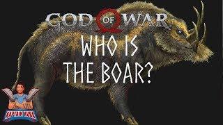God of War Theory: Boar's True Identity