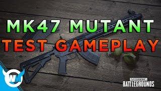 PUBG UPDATE: MK47 MUTANT GAMEPLAY AND TESTING (NEW GUN!)