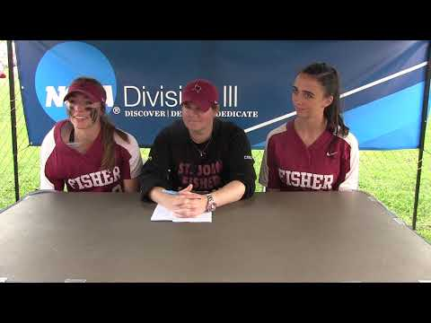 St. John Fisher Postgame Press Conference - 2019 NCAA Cortland Regional Day 1