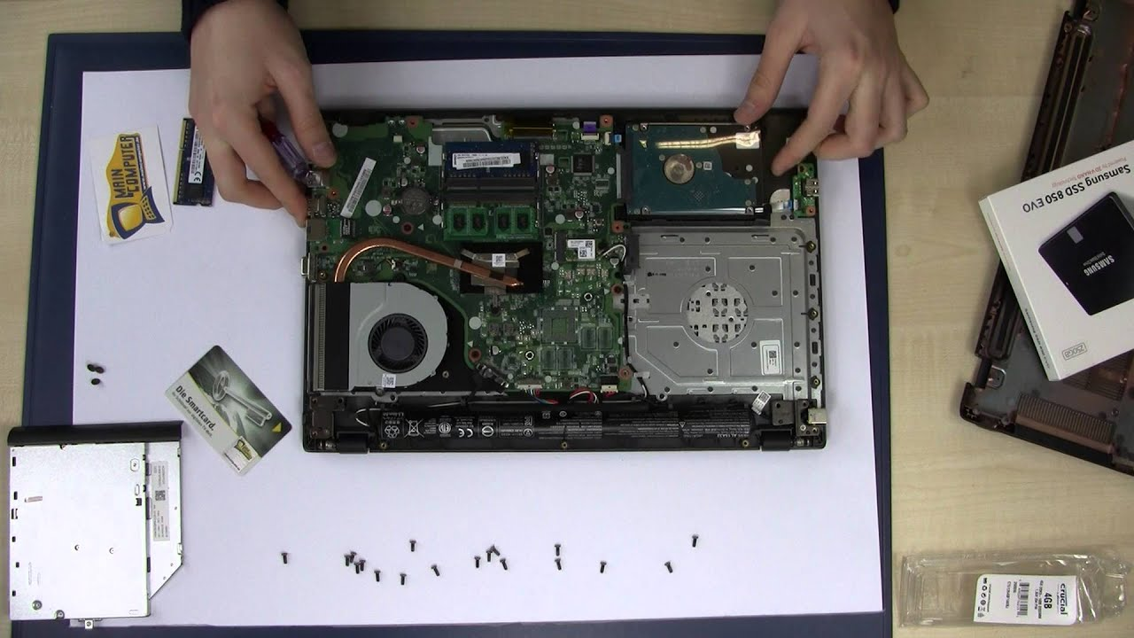 Ram Relax Basic Plus.Acer Aspire E15 Series E5 573 573g V5 Ram Memory Arbeitsspeicher Ssd Hdd Upgrade Tutorial