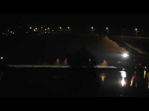видео: Буксир БТМ с баржей