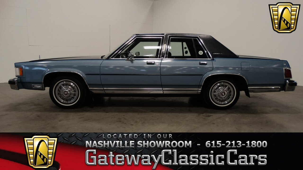 1985 Mercury Grand Marquis Gateway Clic Cars Of Nashville 168 You