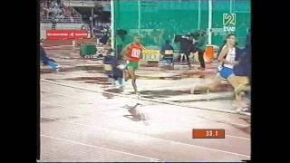 Antonio Reina Cto  Mundo Helsinki Eliminatorias 800 m l