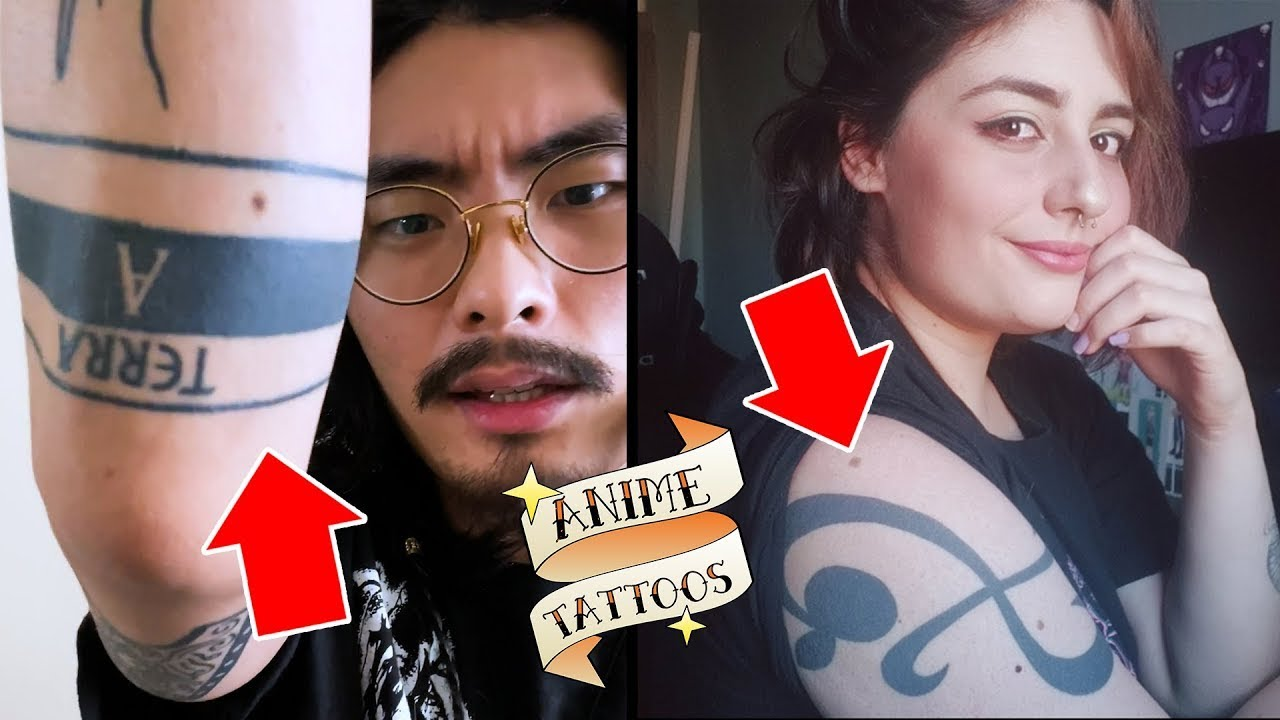 Anime Tattoos with Tim & Malu | Anime Tattoos