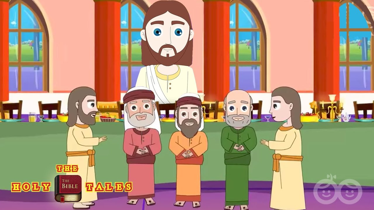 Jesus Appears To His Disciples - Bible Stories For Children