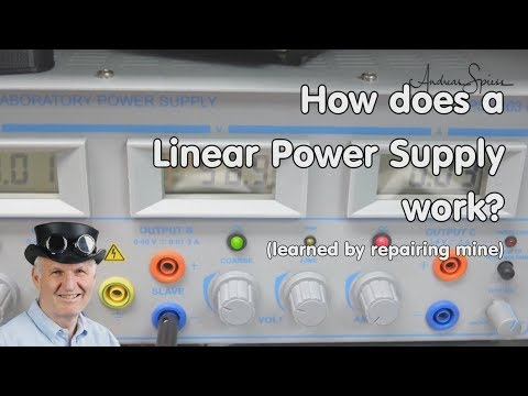 #228 How Does A Linear Power Supply Work? (Incl Repair)
