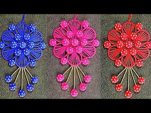 DIY /purani chudiyan ka use / Best Out Of Waste Woolen and Bangles Ideas
