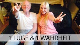 1 LÜGE - 1 WAHRHEIT mit meinem Opa | BibisBeautyPalace Thumbnail