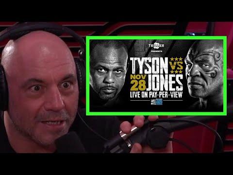 Joe Rogan Hypes Tyson vs.  Roy Jones Jr.