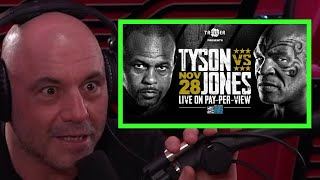 Joe Rogan Hypes Tyson vs.  Roy Jones Jr.