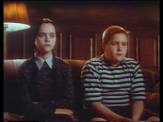 THE ADDAMS FAMILY VALUES - Trailer (1993, German)