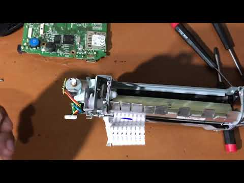 HOW TO REPAIR CANON SELPHY CP1200 (PART 4)