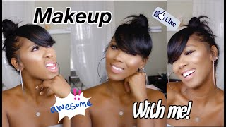 Get Ready With Me: MAKEUP WITH ME!