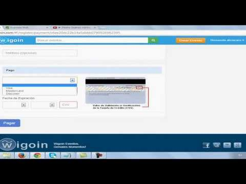 Wigoin.com para vender y/o comprar entradas de eventos
