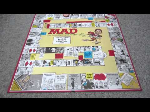 The MAD Magazine Board Game - Rules and Review