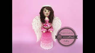 Bridgit's Quilling Angel Chamuel (Part 2) Tutorial for Wings