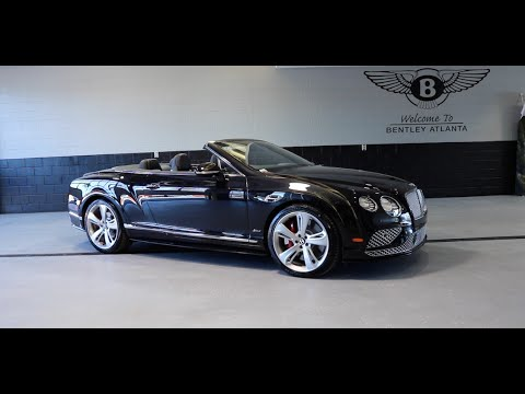 2016 Bentley Continental GT Speed Convertible Technical Review - YouTube