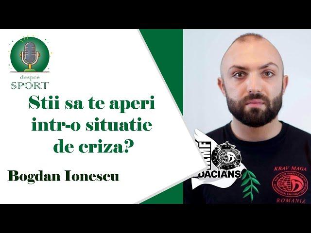 #9 Krav Maga este despre autoaparare! cu Bogdan Ionescu