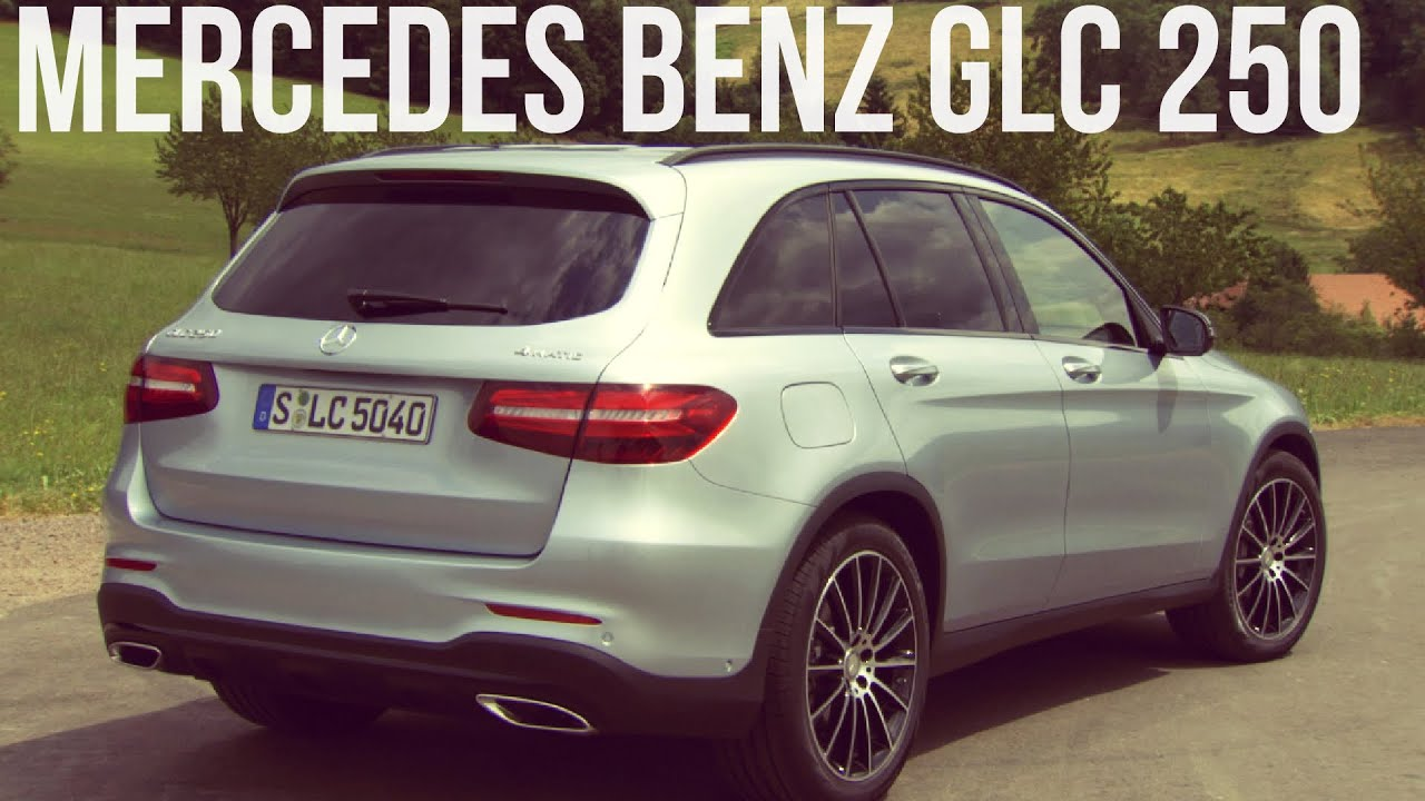 2016 mercedes benz glc 250 4matic diamond silver youtube. Black Bedroom Furniture Sets. Home Design Ideas