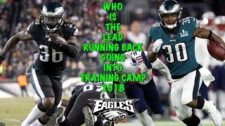 Jay Ajayi And Corey Clement Get Ready To Do Battle In Training Camp!!! A Delusional Falcons Fan!!!