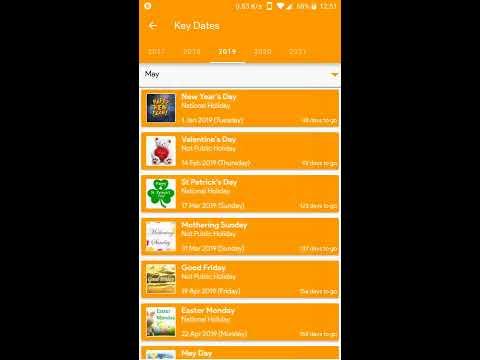 Calendar 2020 App Ireland Calendar 2019   2020   Apps on Google Play