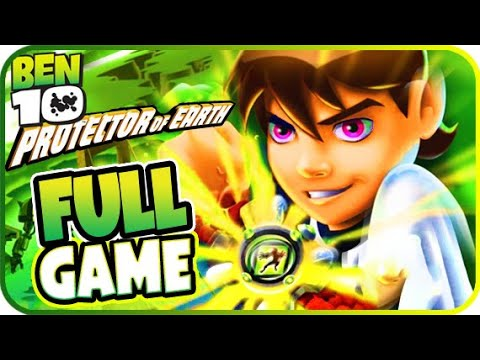 Ben 10: Protector Of Earth Walkthrough FULL GAME Movie Longplay (PSP, Wii, PS2)