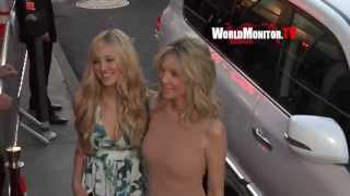 Heather Locklear and daughter Ava Sambora at Scary Movie 5 LA premiere